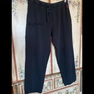 Ralph Lauren XL SWEAT PANTS 100% COTTON POCKETS